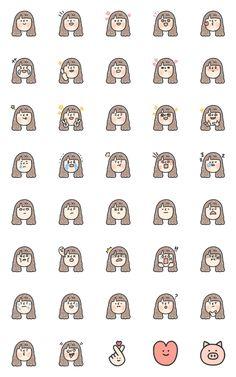 Cute Small Drawings, Mini Drawings, Doodle Drawings, Simple Doodles, Cute Doodles, Kawaii Stickers, Cute Stickers, Easy Doodle Art, Doodle Art Journals