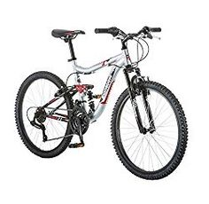 Check Mongoose Ledge Boys' Mountain Bike, Silver/Red at Top 10 Boys Mountain Bikes in 24 inch Under 1000 from Best Mountain Bikes for 8 Year Old and Above Sale - Best Kids Ride on Toys Best Cheap Mountain Bike, Kids Mountain Bikes, Mountain Bike Reviews, Mountain Biking, Moutain Bike, Mountain Style, Bmx Bikes, Cool Bikes, Kids Ride On Toys