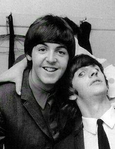 Paul and Ringo