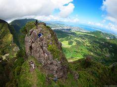 Pali Notches #KEENrecess #hiking