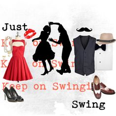 swing dancing ... found this lol thought u might think it was funny