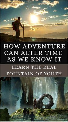 Read how you can obtain the fountain of youth through adventure. http://stores.ebay.com/nutritionalwellnessstore