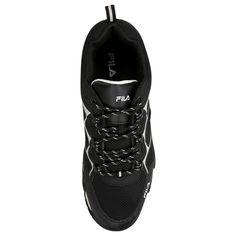 93eb6101323 Zapatillas Fila Fix Negro e Gris