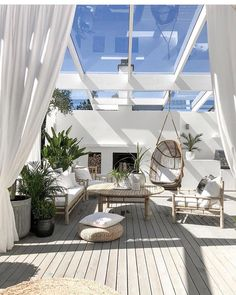 # perfect patio space # the design ideas of the patio # patio as a functional area as a leisure area patio space design decor Terrace Design, Patio Design, House Design, Outdoor Spaces, Outdoor Living, Outdoor Decor, Indoor Outdoor, Outdoor Furniture, Inspire Me Home Decor