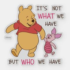 Pooh Customizable Custom-Cut Vinyl Sticker made by Zazzle Paper. Personalize it with photos & text or shop existing designs! Cute Winnie The Pooh, Winnie The Pooh Friends, Winnie The Pooh Sayings, Winnie The Pooh Pictures, Winnie The Pooh Christmas, Pooh And Piglet Quotes, Happy Monday Quotes, Monday Memes, Happy Wednesday