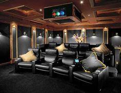 NICE movie room.