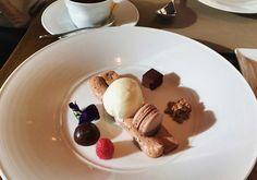 We Liked this on Instagram ... i_am_yuxii: #macarons #icecream #chocolate #mulberry