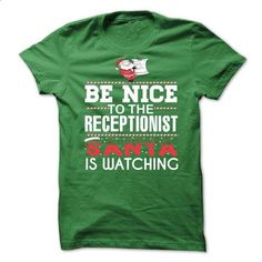 RECEPTIONIST Perfect Xmas Gift - #pink shirt #tshirt dress. GET YOURS => https://www.sunfrog.com//RECEPTIONIST-Perfect-Xmas-Gift.html?68278