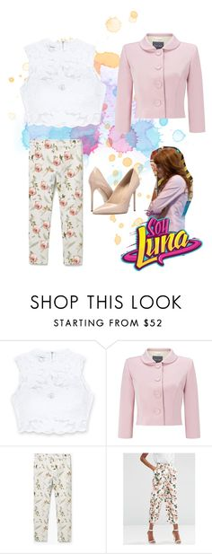 """""""soy luna"""" by maria-look ❤ liked on Polyvore featuring Bebe, Phase Eight, MANGO, ASOS and Massimo Matteo"""