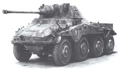 "Sdkfz ""Puma"" armed in 5 cm KwK 39 gun Mais Armoured Personnel Carrier, Tank Armor, Model Tanks, Armored Fighting Vehicle, World Of Tanks, Ww2 Tanks, German Army, Armored Vehicles, War Machine"