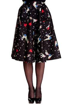 Hell Bunny Forever Dead Skirt
