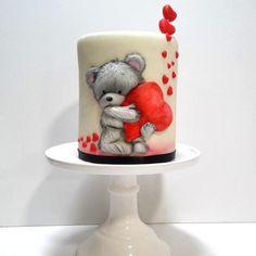 Cute Teddy Bear by Andrea Costoya