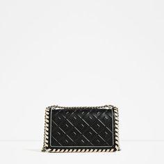 Image 2 of EMBOSSED CROSSBODY BAG from Zara