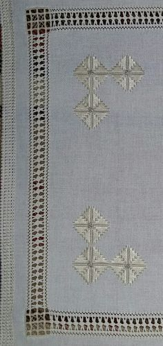 This post was discovered by TC Cutwork Embroidery, Drawn Thread, Bargello, Needle And Thread, Crochet, Needlework, Projects To Try, Stitch, Sewing