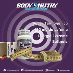 Quando você pensa num #termogênico bacana, o que te vem em mente? #Cafeína? Oxy Body Pro da Body Nutry vem com 420mg por dose! Um queimador muito louco que vem em #softgels. São cápsulas de ultra absorção! Cai no organismo rapidinho! Tudo o que você queria, né? #OxyBodyPro traz a energia ideal para seus treinos e acelera a queima de gorduras. http://bodynutry.ind.br/site2/produtos/emagrecedores/oxy-body-pro  #bodynutry #modocabuloso #dietaétudo #fábricadedivas #mulheresmusculosas…