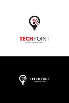 If you are looking for a simple creative logo, Tech Point Logo Template is an excellent logo template suitable for your company. GrayScale and 3 others unique Typography Design, Logo Design, Tech Branding, Service Logo, Real Estate Logo, Ui Elements, Creative Logo, Logo Ideas, Logo Templates