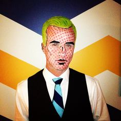Men's Pop Art Halloween Costume #menscostume #costume #Halloween #PopArt #menswear