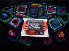 omⒶ KOPPA - Colorful Screen coat - front