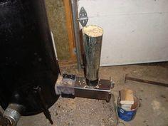Gravity Fed Pellet Burner: 3 Steps