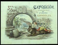 Exposición Muestrario de Productos Españoles : San José de Costa Rica : 15 septiembre 1921 :: Cartells (Biblioteca de Catalunya)