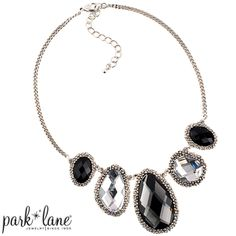 Center of Attention Necklace| Park Lane Jewelry----I wanted this necklace for two years and I finally got it for FREE when I hosted my own show!Thank You Parklane! And I wore it on my birthday last Saturday, April 26, 2014! Check out my other pins wearing this necklace!