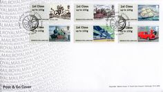 Post & Go : Royal Mail Heritage: Transport (2016) : Collect GB Stamps