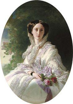 Olga Grand Duchess of Russia 1856, by Winterhalter   Flickr - Photo Sharing!