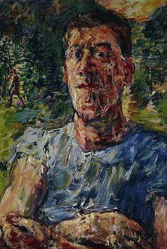 Oskar Kokoschka (Autriche, 1886-1980) – Autoportrait (1937) National Galleries Scotland, Edimbourg, Ecosse