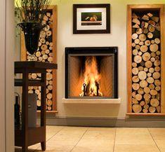 Foyer renaissance - espace pour le bois