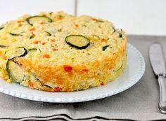 Timballo di riso e verdure