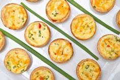 Finger food: savoury recipes