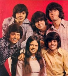I LOVED Donny Osmond Love this photo of all of the Osmonds  www.photopix.co.nz