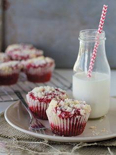 Cream Cheese Muffins   Red Velvet Lover's Cookbook