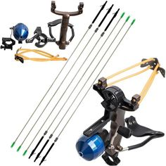 Shooting Fish Slingshot 1 shooting fish slingshot. Multi-function: it can not only be used for shooting fish, but also shooting arrows! Functions: Shooting fish or arrows, entertainment. Fishing Hunting Arrows.   eBay!