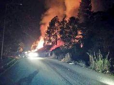 Incendio en Chorros de Milla (Tweets)