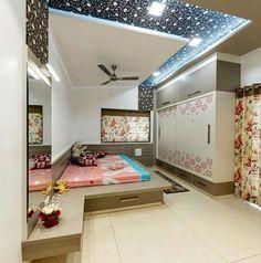 Modern Spanish Bungalow Interiors With Dark Wood Bedroom Cupboard Designs, Wardrobe Design Bedroom, Bedroom Bed Design, Bedroom Furniture Design, Home Room Design, Home Decor Bedroom, Home Interior Design, House Design, Kitchen Furniture