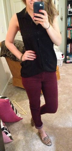 would wear this. like the color of the pants, maybe different shoes
