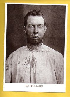 Postcard , Jim Younger, Younger Gang