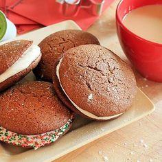 Gingerbread Coffee Whoopie Pies