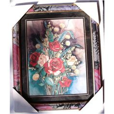 NEW FLORAL PRINT WITH MODERN MATCHING FRAMED WALL PICTURE-MOUNTED Listing in the Picture Frames,Decorative,Home & Garden Category on eBid United Kingdom | 149735429