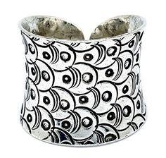 Artisan Handcraft Engrave Hill Tribe Silver Handmade Band