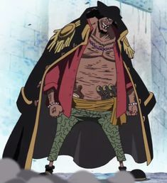 Marshall D. Teach from One Piece