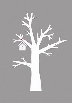 ... boom voor meisjeskamer ideeën baby room houten boom kinderkamer boom