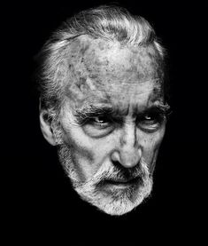 Christopher Lee by Nadav Kander via Iconic Cool After Dark