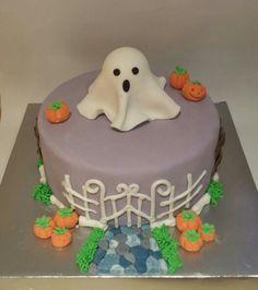 Tarta fondant Halloween