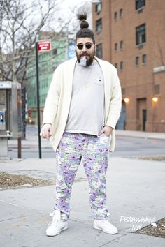 yeaaa distinguishednyc: Distinguished NYC: Who say men can't pull off floral ...