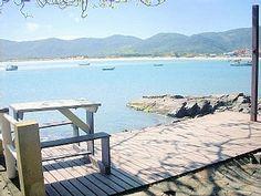 Charmosa casa de férias com maravilhosa vista mar Aluguer de férias em Pântano do Sul da @HomeAway.com! #vacation #rental #travel #homeaway Vai ser minha ainda!!