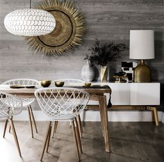 chic dining room ins