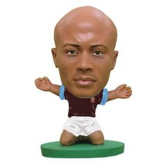 West Ham United F C - Andre Ayew - soccerstarz figure - 2 inches tall - classic kit - in blister pack - official licensed West Ham United Fc, The Unit, Football, Kit, Classic, Soccer, Derby, Futbol, American Football