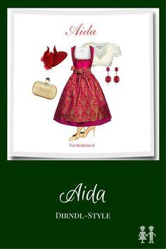 Dirndl-Style Aida zum Nachshoppen